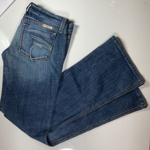 Frankie B. Low Rise Bootcut Jeans